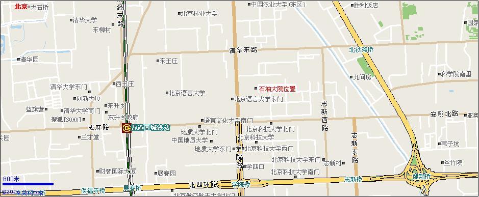 北京市海淀区学院路20号石油大院59楼一层西侧    请参看以下地图